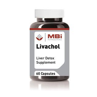 MBi Nutraceuticals MBi  Nutraceuticals  LIVACHOL  Liver Detox Supplement 60 caps