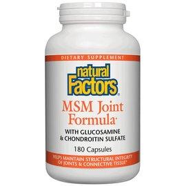 Natural Factors MSM Joint Formula 180 capsules -Vitamin Express