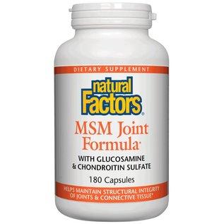 Natural Factors MSM Joint Formula 180 Capsules - Vitamin Express