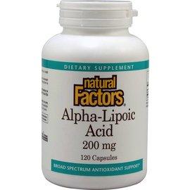 NATURAL FACTORS Natural Factors Alpha-Lipoic Acid 200mg 120c Vitamin Express