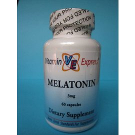 VITAMIN EXPRESS Melatonin 3mg 60 Capsules