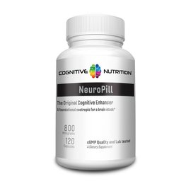 COGNITIVE NUTRITION NeuroPill Piracetam 800mg 120c