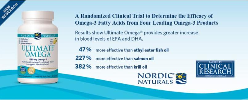 Nordic Naturals Special! 15% off entire line!