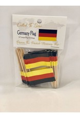 Popcorn Tree Called to Serve Toothpick Flags - Germany