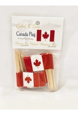 Popcorn Tree Called to Serve Toothpick Flags - Canada