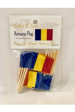 Popcorn Tree Called to Serve Toothpick Flags - Romania
