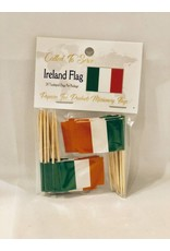 Popcorn Tree Called to Serve Toothpick Flags - Ireland