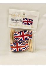 Popcorn Tree Called to Serve Toothpick Flags - United Kingdom