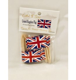Popcorn Tree Called to Serve Toothpick Flags - United Kingdom