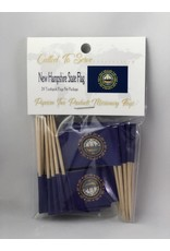 Popcorn Tree Called to Serve Toothpick Flags - New Hampshire