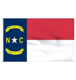 Popcorn Tree Flag - North Carolina 3'x5'