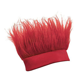 FUN EXPRESS Crazy Hair Headband - Crimson