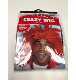 Crazy Wig - Red