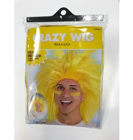 Crazy Wig - Yellow