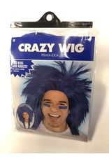 Crazy Wig - Blue