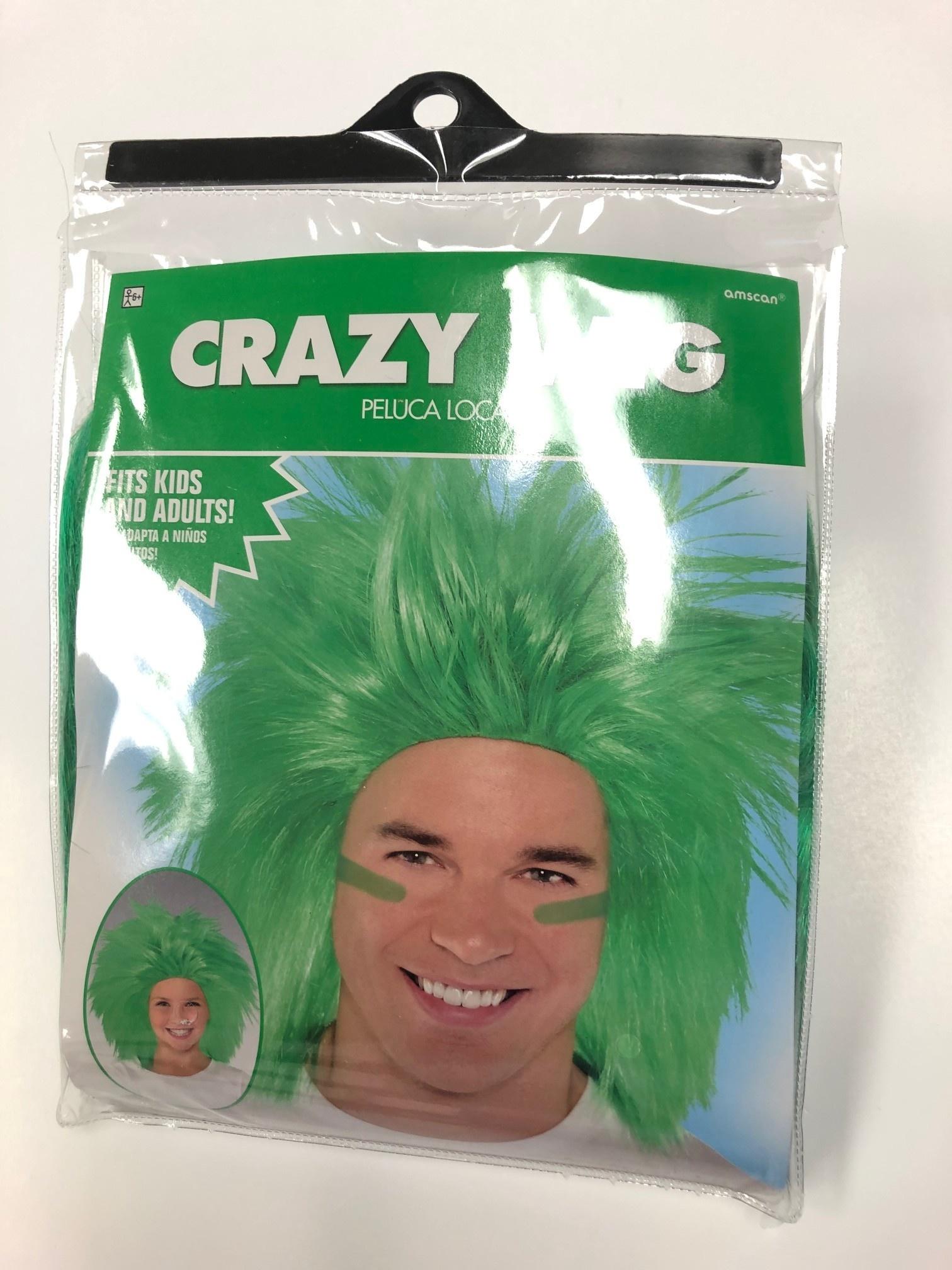 Crazy Wig - Green