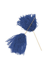 FUN EXPRESS Spirit Pom-Pom - Solid Blue