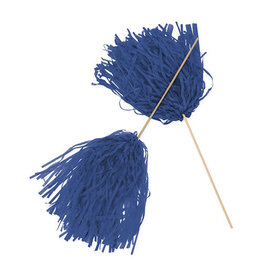 FUN EXPRESS Spirit Pom-Pom - Solid Blue
