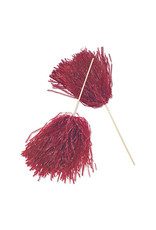 FUN EXPRESS Spirit Pom-Pom - Solid Maroon