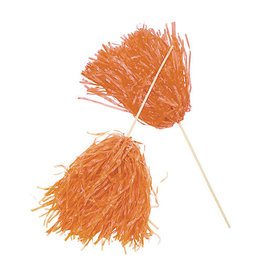 FUN EXPRESS Spirit Pom-Pom - Solid Orange