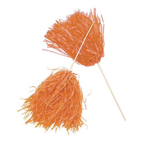 FUN EXPRESS Spirit Pom-Pom - Solid Orange