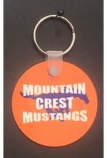 """2"""" Keychain - Mountain Crest"""