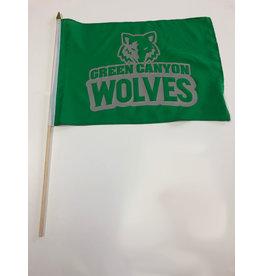 School Spirit Flag - Green Canyon