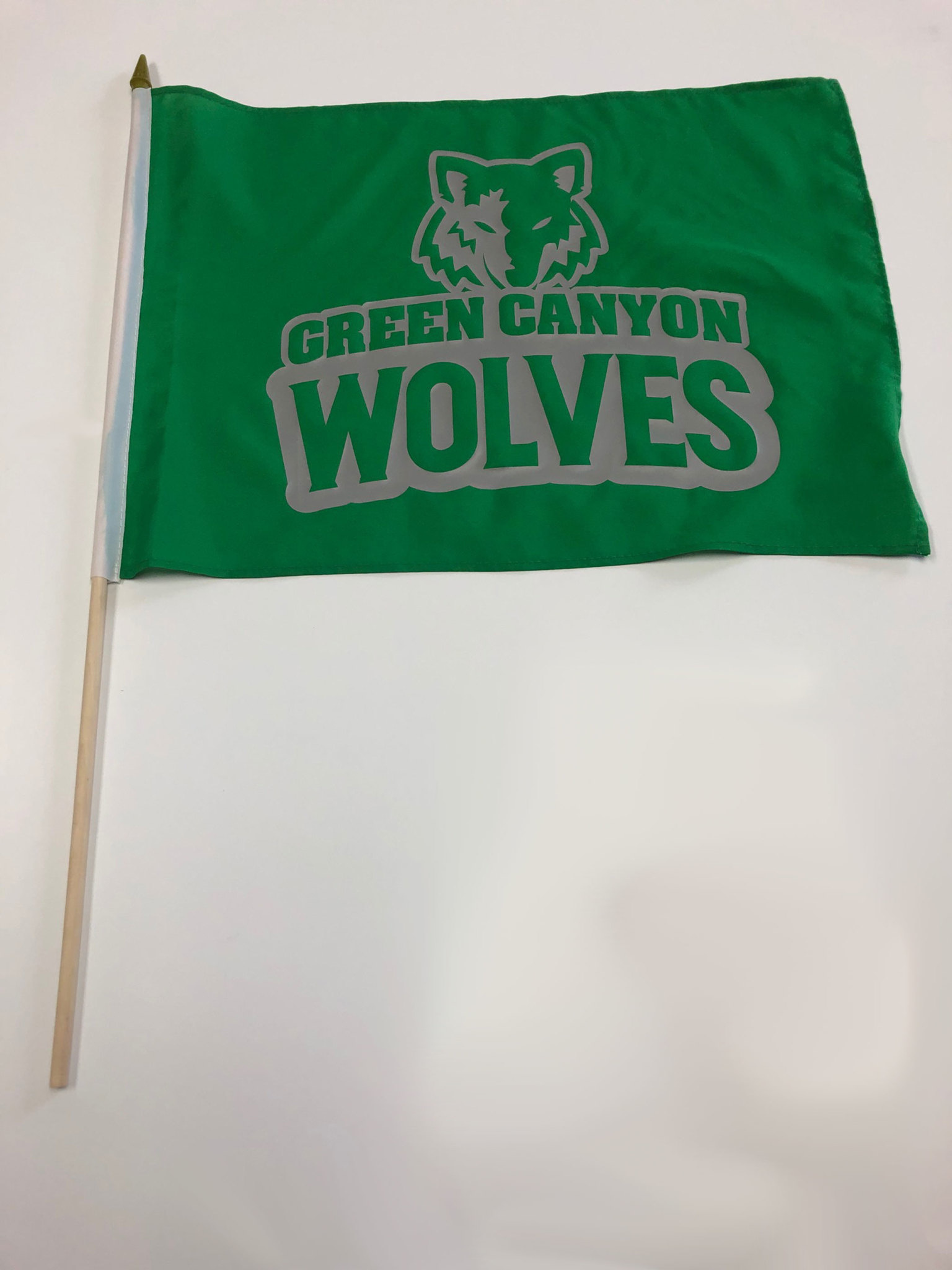 School Spirit Flag - Green Canyon