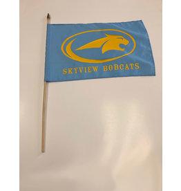 School Spirit Flag - Sky View