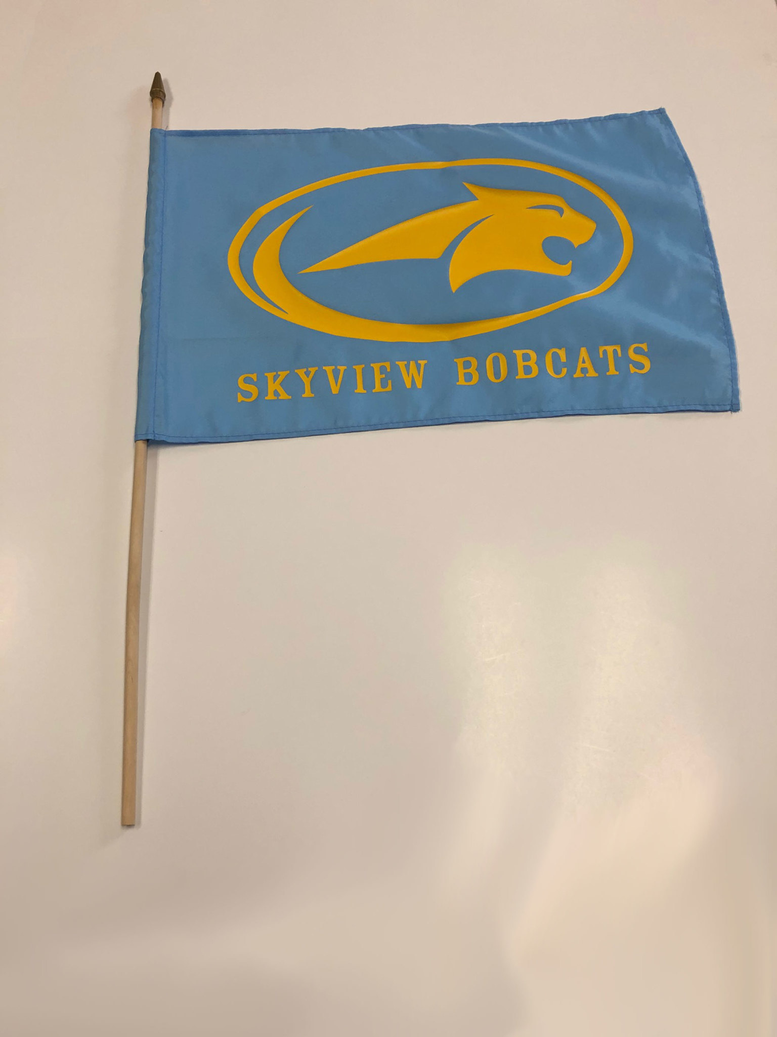 School Spirit Flag - Sky View