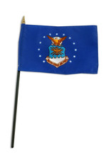 "Stick Flag 4""x6"" - Air Force"