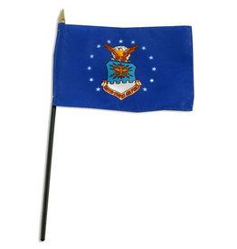 "Stick Flag 4""x6"" - Air Force"