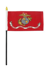 "Stick Flag 4""x6"" - Marine"
