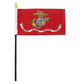 "Stick Flag 4""x6"" - Marine"