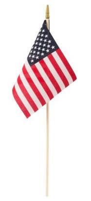 "US Toy Stick Flag - USA 8""x12"""