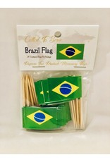 Toothpick Flags - Brazil