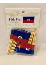 Toothpick Flags - Haiti