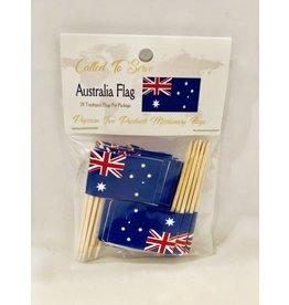 Toothpick Flags - Australia