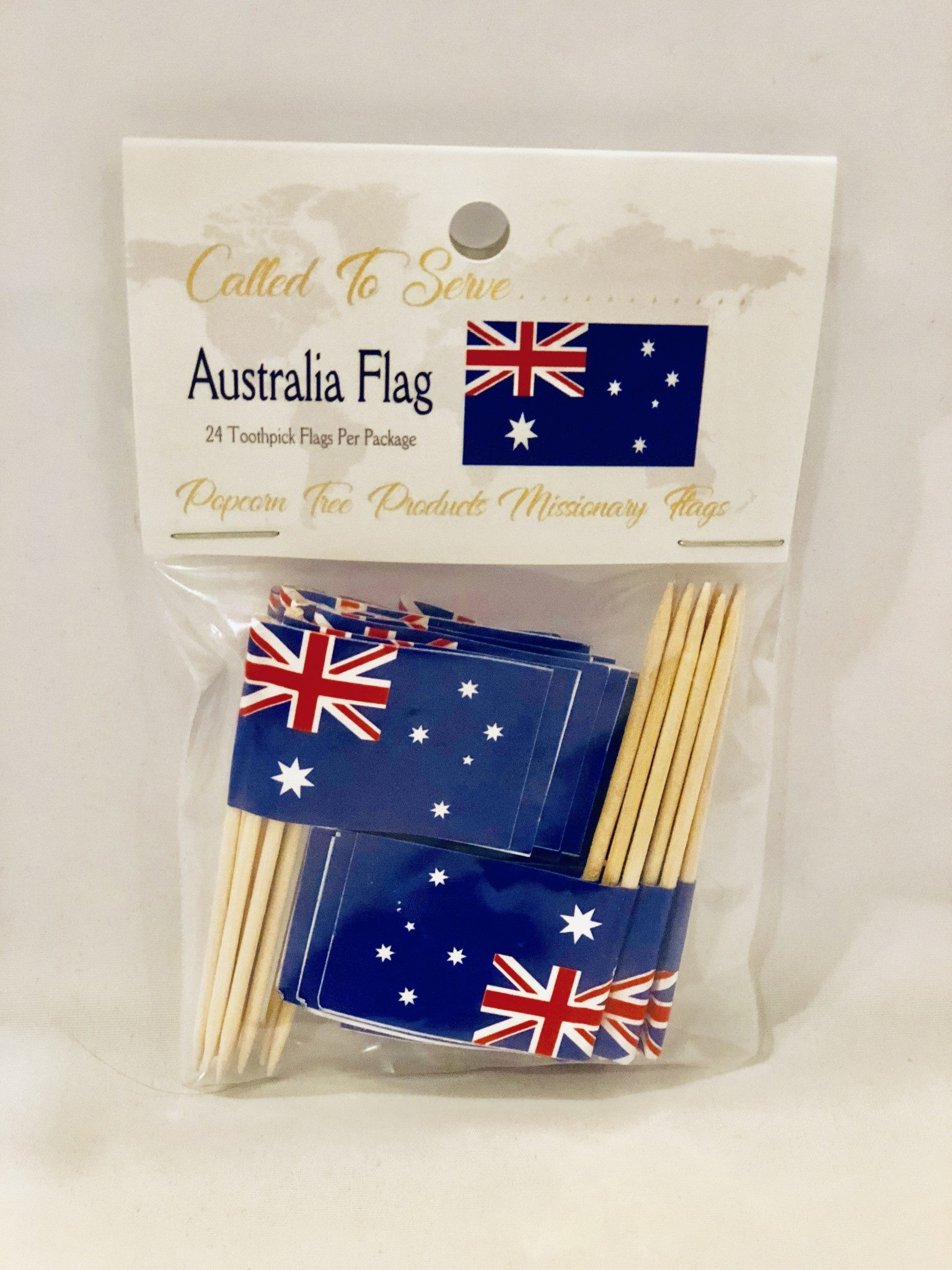 Toothpick Flags - Australia