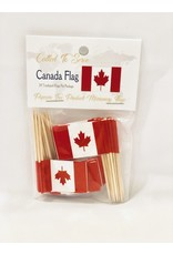 Toothpick Flags - Canada
