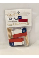 Toothpick Flags - Chile