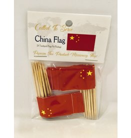 Toothpick Flags - China