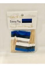 Toothpick Flags - Estonia