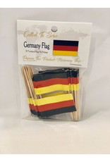 Toothpick Flags - Germany