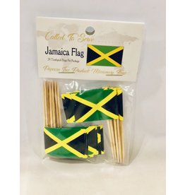 Toothpick Flags - Jamaica