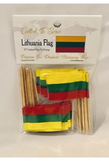 Toothpick Flags - Lithuania