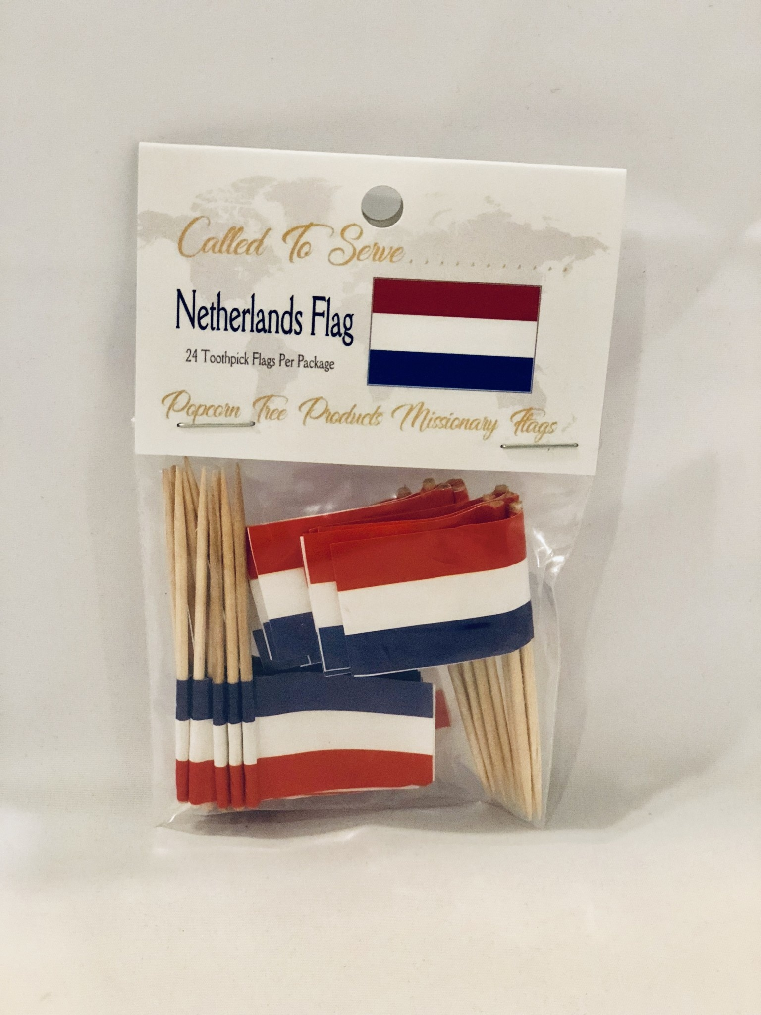 Toothpick Flags - Netherlands