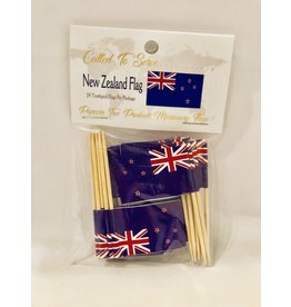 Toothpick Flags - New Zealand