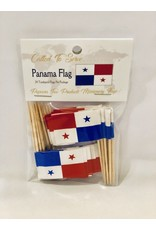 Toothpick Flags - Panama