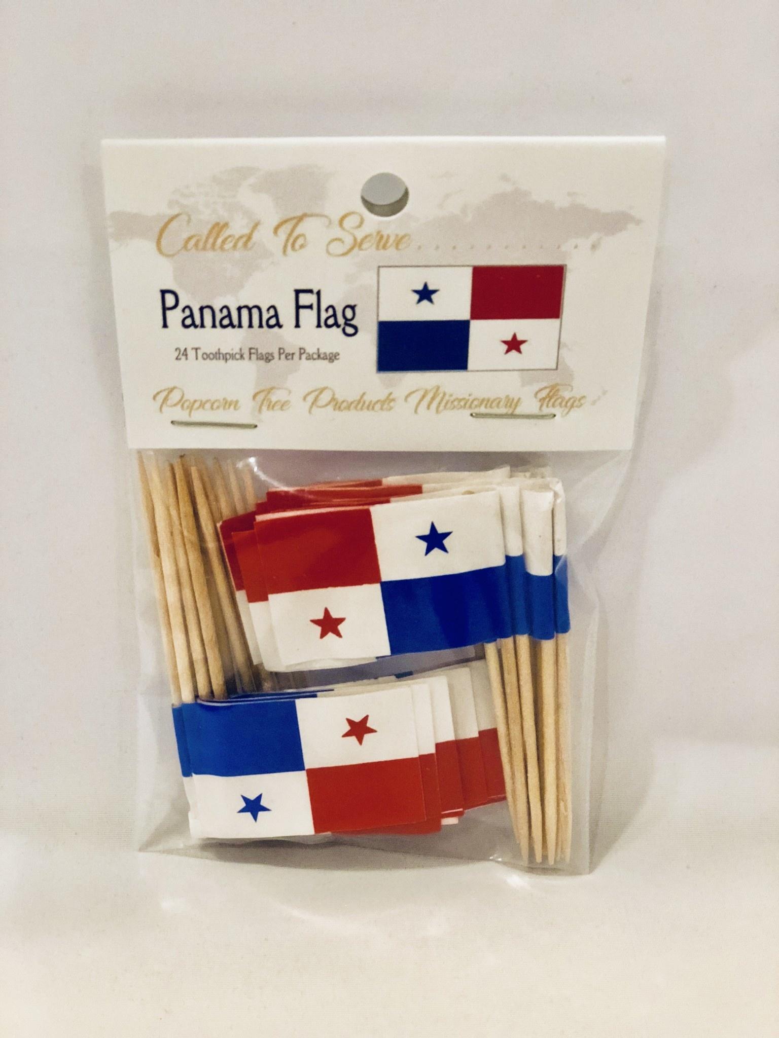 Toothpick Flags - Panama